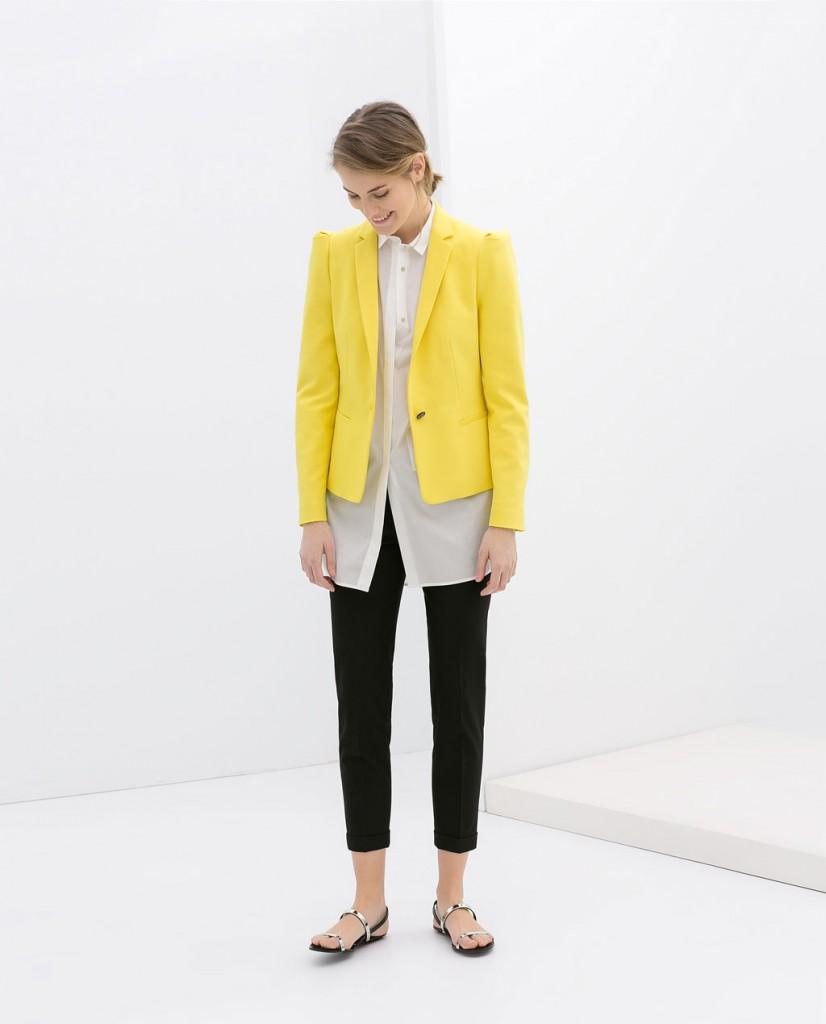 ZARA blazer colores 39.95 euros