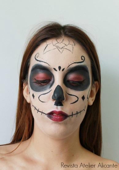 Maquillaje Halloween Atelier Alicante