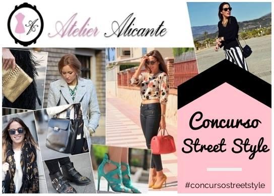 Concurso StreetStyle Ganadores - Atelier Alicante