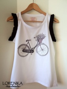 "LORENIKA Camiseta ""I love my bike"""