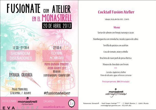 Cocktail Atelier en el Monastrell