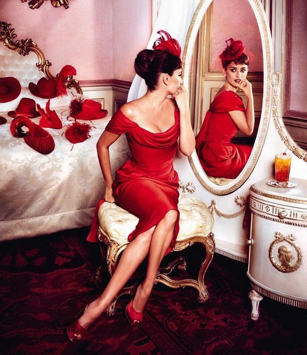 vestido rojo atelier alicante