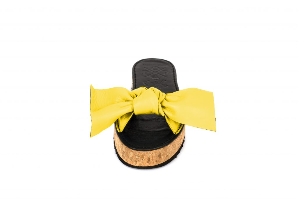 MARÍA ESCOTÉ BIG BOW YELLOW-atelier-alicante