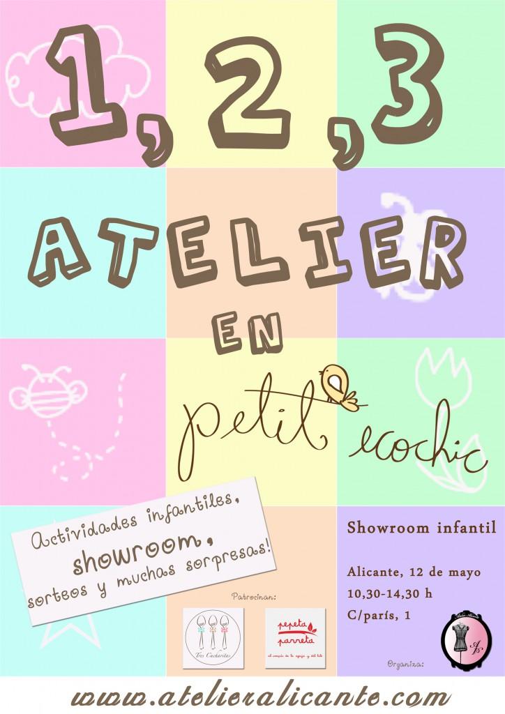 1, 2, 3 Atelier Alicante en Petit Ecochic
