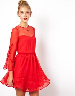 ASOS vestido rojo 90.29 euros