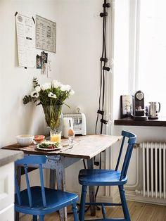 azul klein en el office