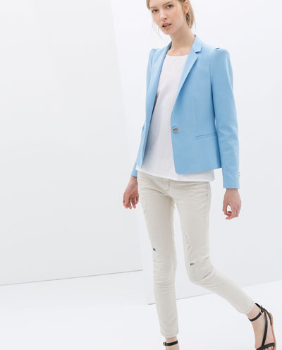 ZARA blazer 39.95 euros