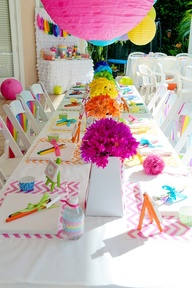 comedor colorfull