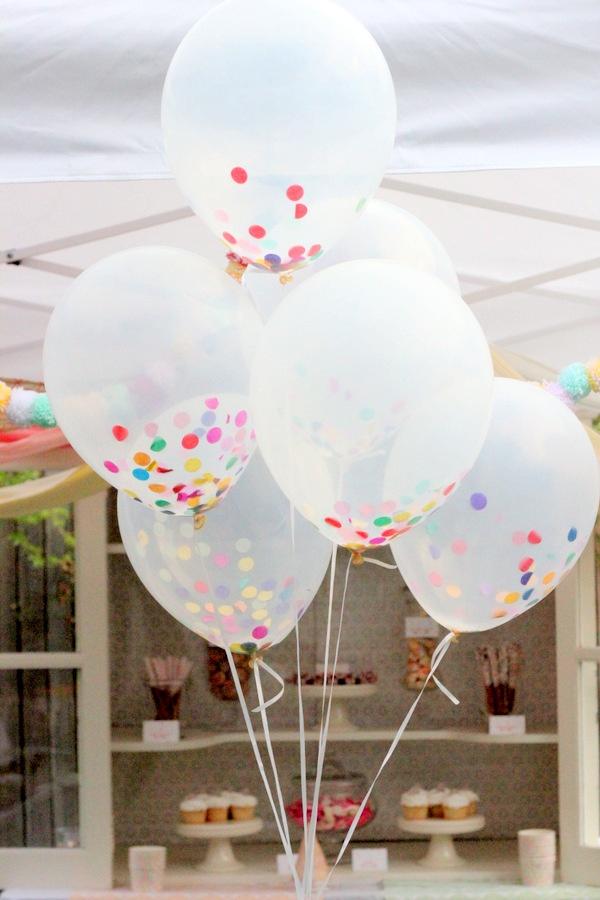 globos y confetti