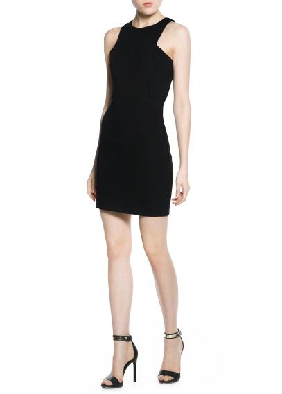 MANGO vestido de  punto roma 35.99 euros