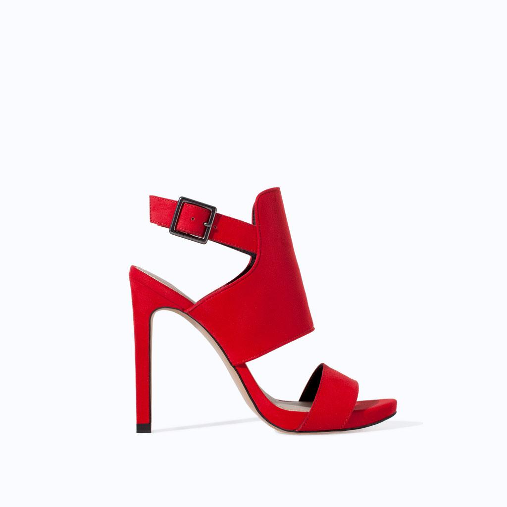 ZARA sandalia envolvente 29.95 euros