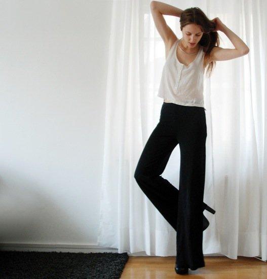 pantalon de campana atelier alicante